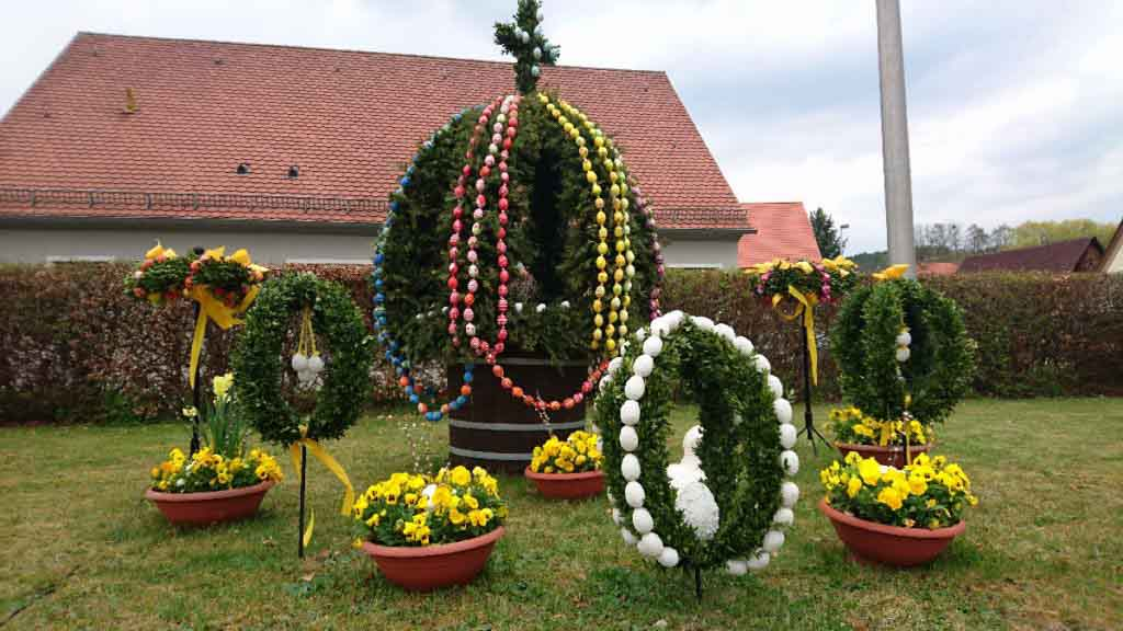 Franconian Easter decorations
