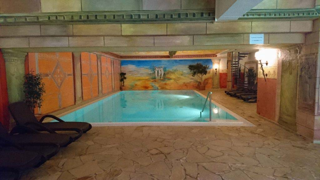 Wellness in Franconia Pool Reiterhof Wirsberg Bellvue Spa & Resort