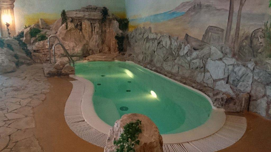 Wellness in Franconia Whirlpool Reiterhof Wirsberg Bellvue Spa & Resort