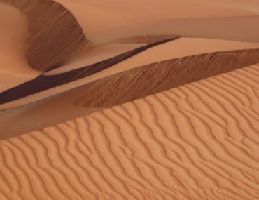 Dunes in the Empty Quarter Oman