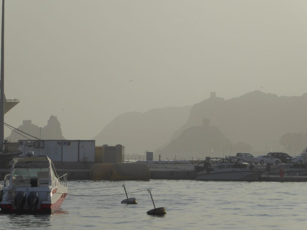 Harbour in Muttrah Oman
