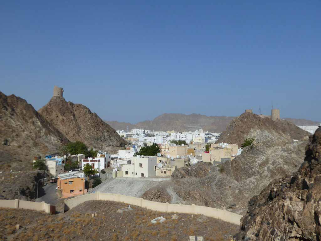 View of Muttrah Oman