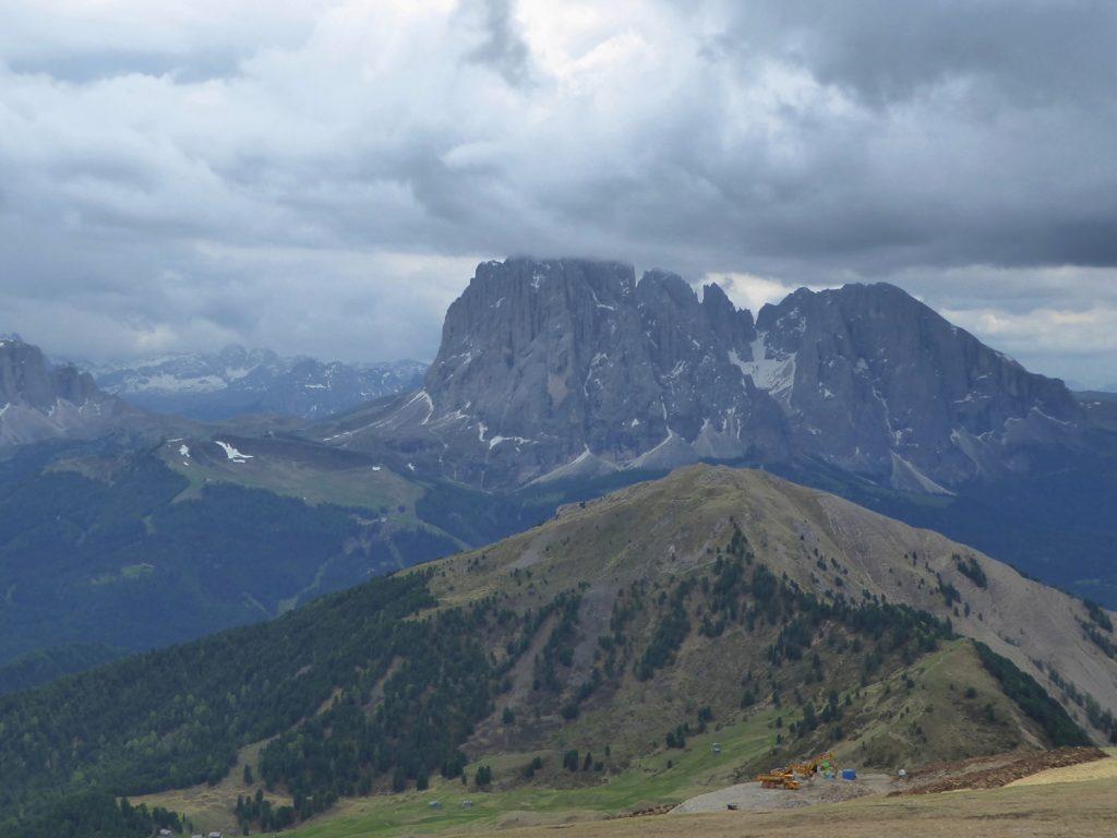 Panorama Val Gardena South Tyrol Marmolada glacier