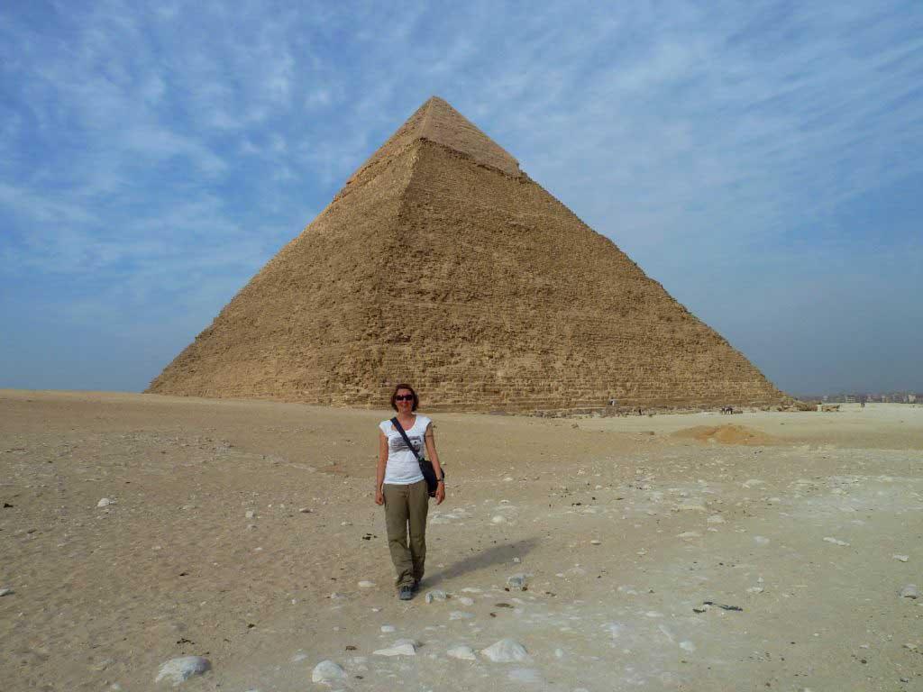 Wonder of the world, Pyramid Giza Egypt