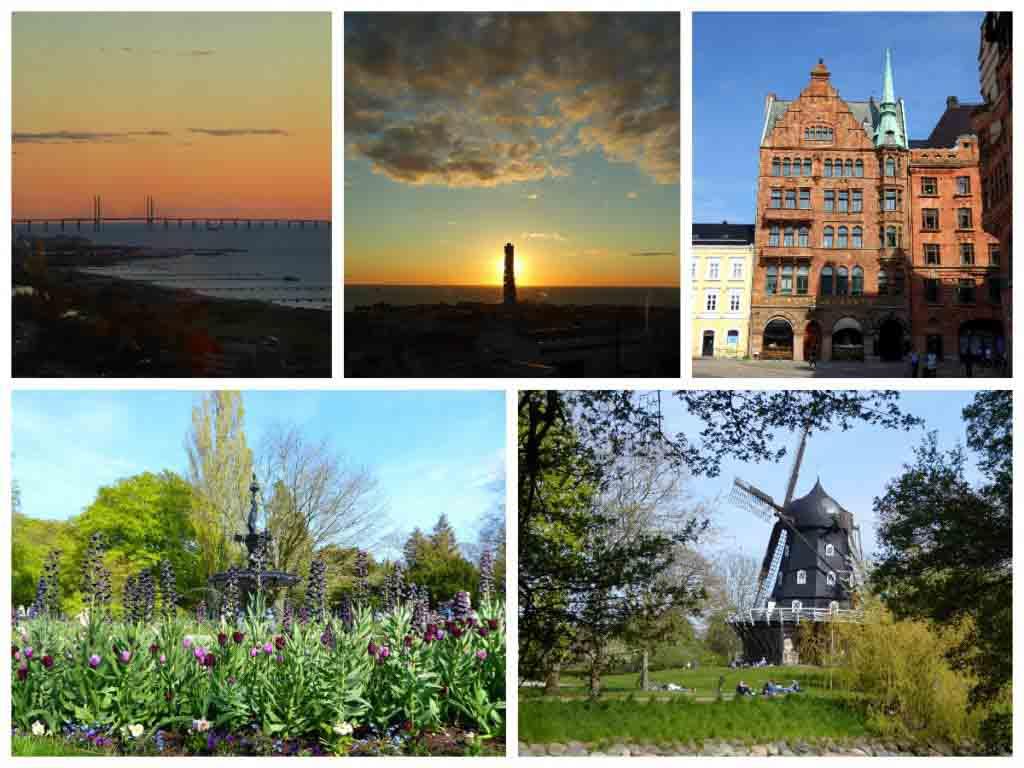 Malmö in Skane, Sweden