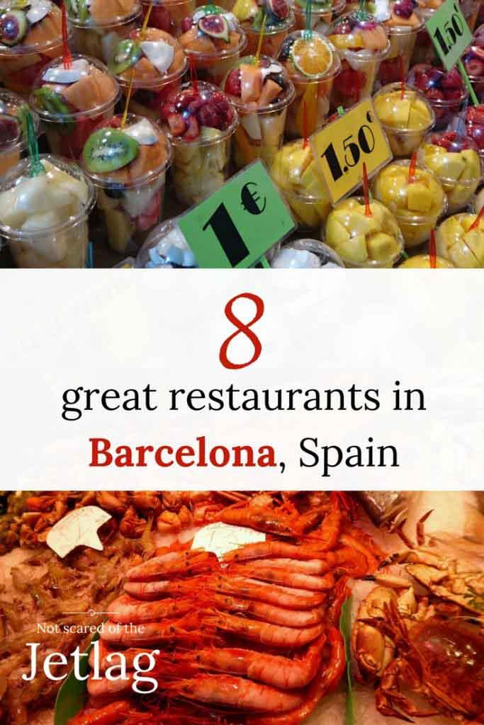 great restaurants in Barcelona Spain