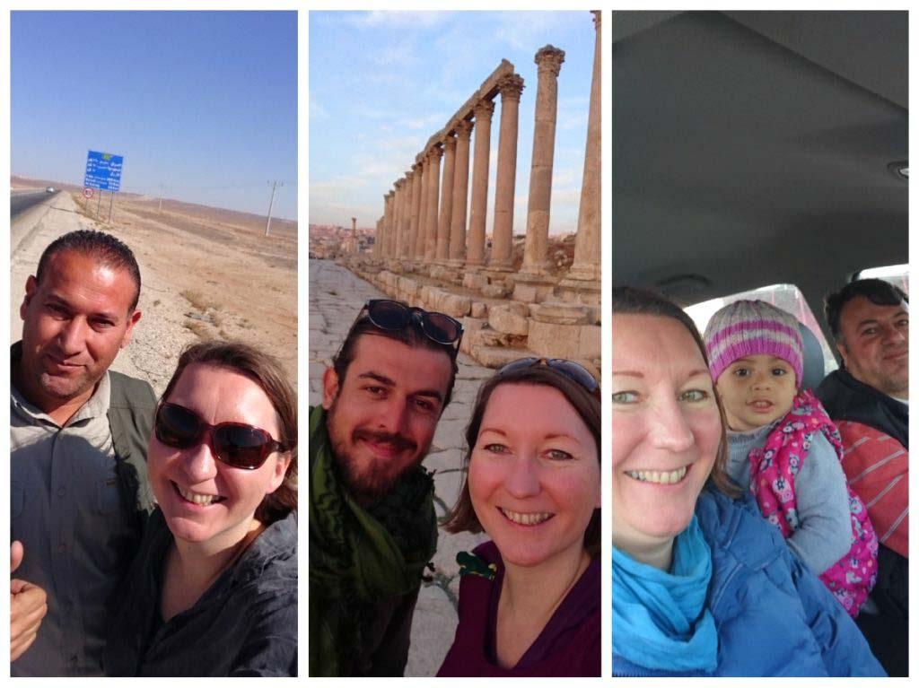 driver Jordan, Jerash, people of Jordan, tips for travelling Jordan