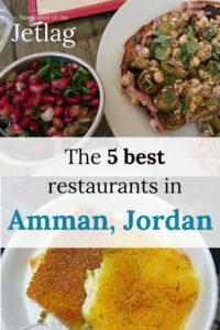 5 best restaurants in Amman, Jordan, food, Pinterest