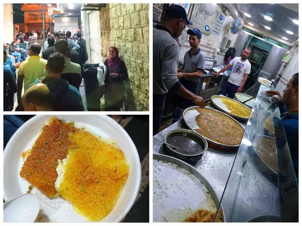 Knefe, Knafe, Habiba restaurant, Amman, Jordan, food, dessert