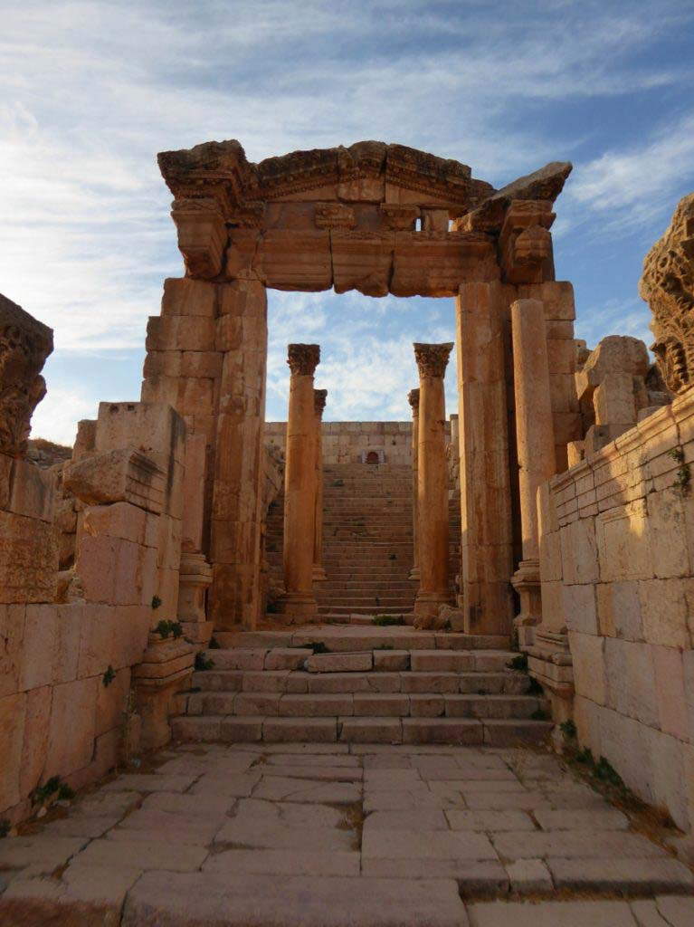 Jerash, Jordan, beautiful Roman ruins, favourite city in Jordan