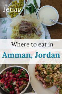 Pinterest where to eat in Amman, restaurants in Amman, Jordan