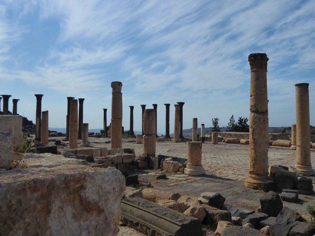 Roman ruins Umm Qais, Jordan