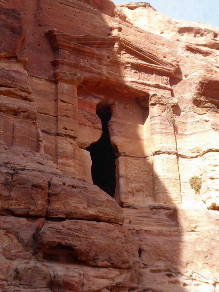 Lion tomb, things to do in Petra, Monastery Trail