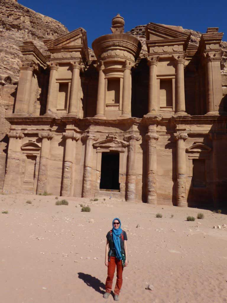 Monastery Petra Jordan hiking clothes