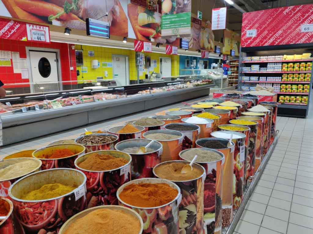 Supermarket, Errachidia Morocco