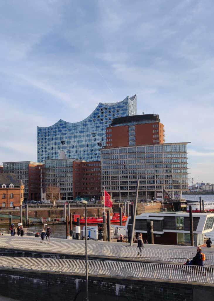 Elbphilharmonie Hamburg, Germany. Concert hall