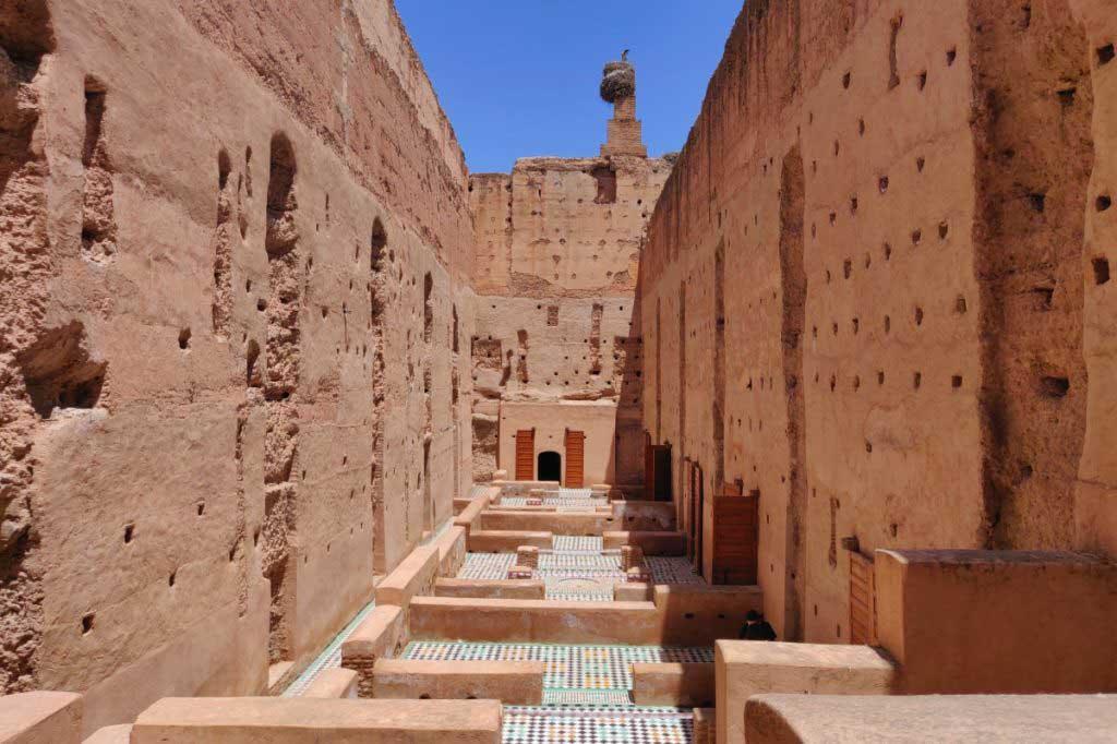 El Badi Palast, Reiseführer Marrakesch