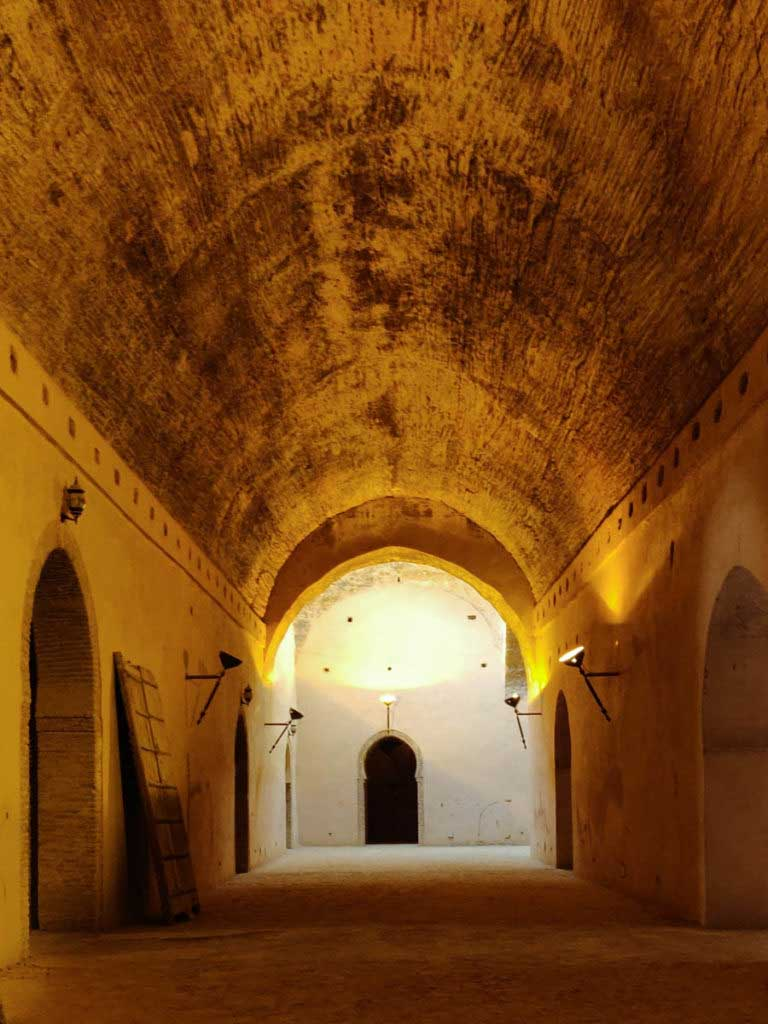 Heri as Souani, basement with high domed ceiling formerly used as granary for the city of Meknes