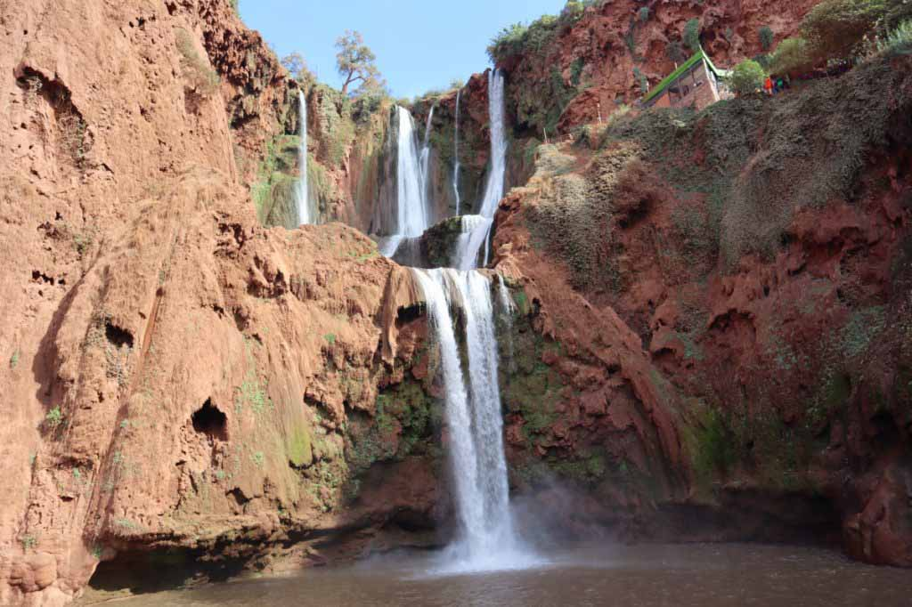 Waterfalls of Ouzoud in Morocco