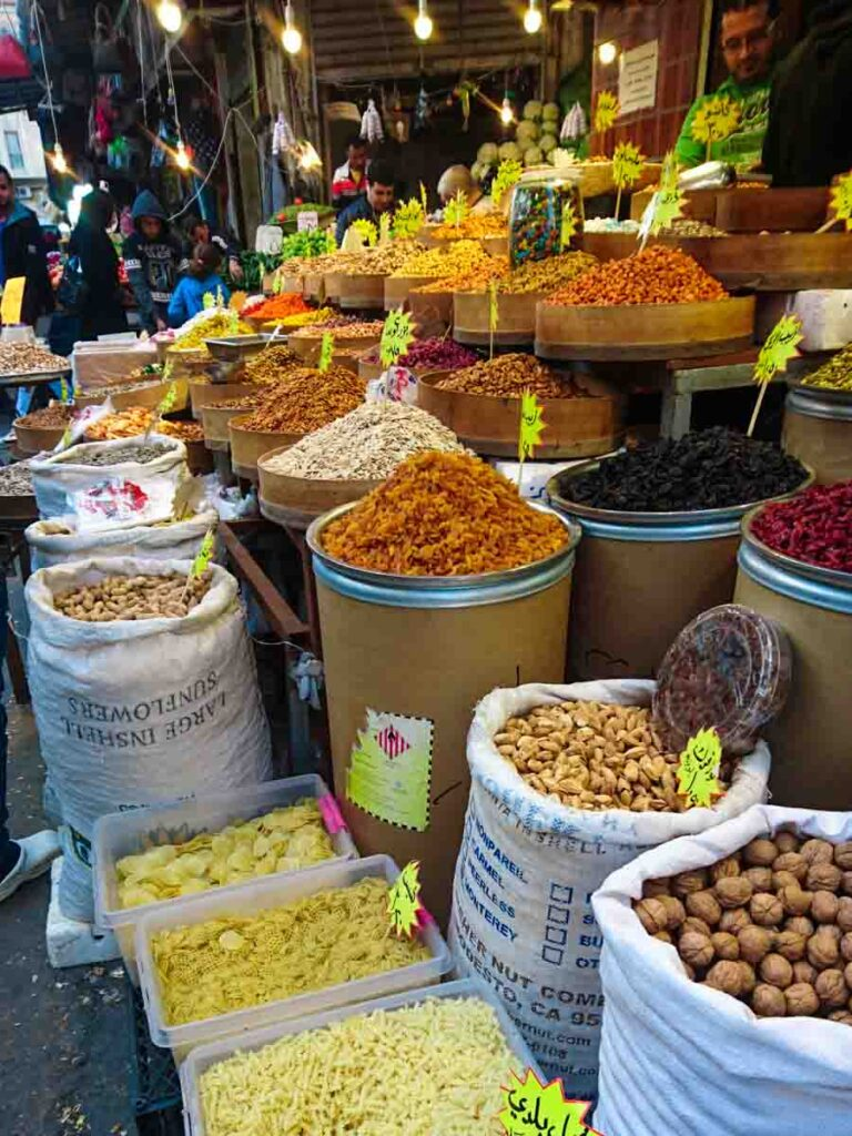 Visiting the souk in Amman is a must do thing to do in Amman.